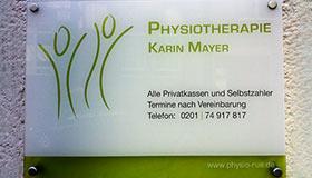 Krankengymnastik/Physiotherapie
